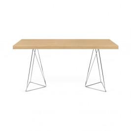 Svetlohnedý stôl TemaHome Multi,160cm