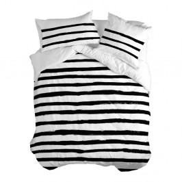Bavlnená obliečka na paplón Blanc Stripes, 140x200cm