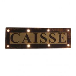 Svietiaca ceduľa Antic Line Caisse