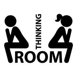 Samolepka Ambiance Thinking Room