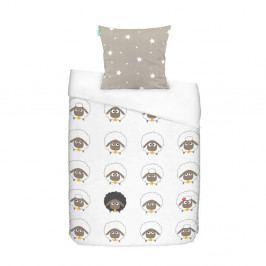 Bavlnené obliečky Baleno Little Sheep, 140 x 200 cm