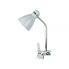 Sivá lampa so svorkou Present Time ETH Clip