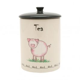 Dóza na čaj z porcelánu Price&Kensington Home Farm