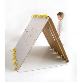 Domček Unlimited Design for kids Žltá stuha