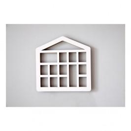 Polička Unlimited Design for kids Domček s oknami