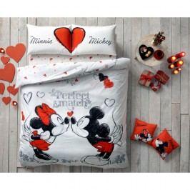 Obliečky s plachtou Minnie & Mickey, 160x220cm