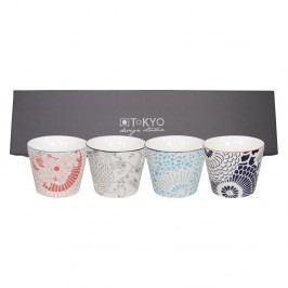 Sada 4 porcelánových hrnčekov Tokyo Design Studio Shiki, 180ml
