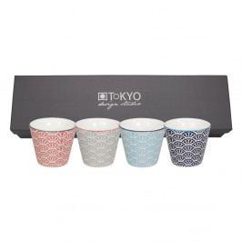 Sada 4 hrnčekov Tokyo Design Studio Shiki, 85ml