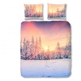 Bavlnené obliečky Müller Textiel Snow, 140x200cm