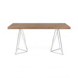 Hnedý stôl TemaHome Multi, 160cm