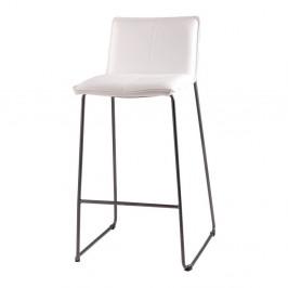 Sada 2 bielych barových stoličiek sømcasa Lou