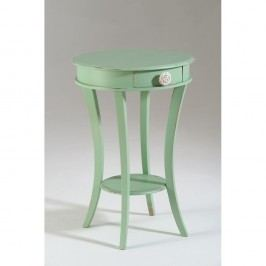 Zelený drevený konferenčný stolík Castagnetti Verde