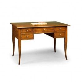 Drevený pracovný stôl s 5 zásuvkami Castagnetti Scrivere
