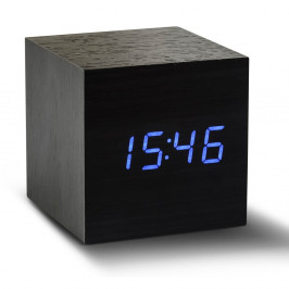 LED budík Click Clock Maxi Black