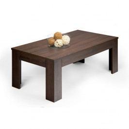 Konferenčný stolík v dekore tmavého duba MobiliFiver Easy