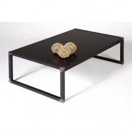 Čierny konferenčný stolík MobiliFiver Luxury