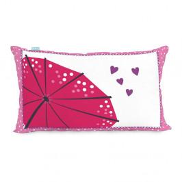 Obojstranná obliečka na vankúš Moshi Moshi Cherry Blossom, 50×30cm