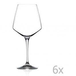 Súprava 6 pohárov na víno RCR Cristalleria Italiana Alberta, 790 ml