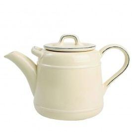 Krémová keramická čajová kanvica T&G Woodware Pride of Place, 1,5 l