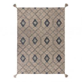 Sivý vlnený koberec Flair Rugs Diego, 200 x 290 cm