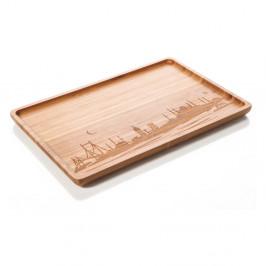 Bambusový servírovací podnos Bambum Veggie