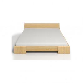 Dvojlôžková posteľ z borovicového dreva Skandica Vestre, 200×200cm