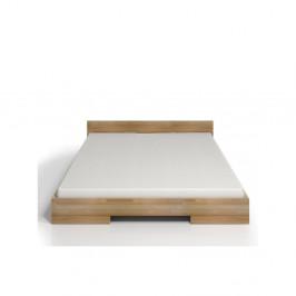 Dvojlôžková posteľ z bukového dreva Skandica Spectrum, 140×200cm
