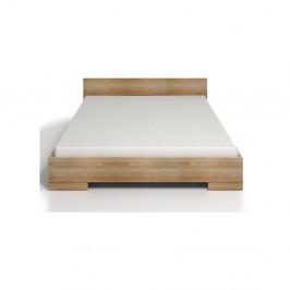 Dvojlôžková posteľ z bukového dreva Skandica Spectrum Maxi, 200×200cm