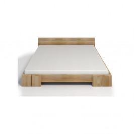 Dvojlôžková posteľ z bukového dreva Skandica Vestre, 140×200cm