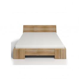 Dvojlôžková posteľ z bukového dreva Skandica Vestre Maxi, 160×200cm