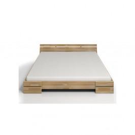 Dvojlôžková posteľ z bukového dreva Skandica Sparta, 180×200cm