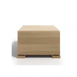 Nočný stolík z bukového dreva so zásuvkou SKANDICA Vestre