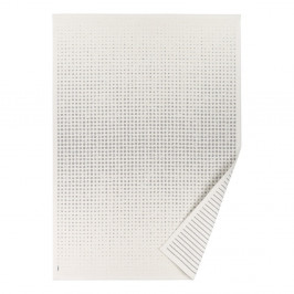Biely vzorovaný obojstranný koberec Narma Helme, 70×140cm