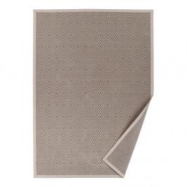 Béžový vzorovaný obojstranný koberec Narma Kalana, 140×200cm