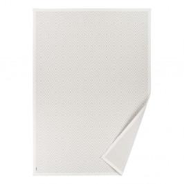 Biely vzorovaný obojstranný koberec Narma Kalana, 160×230cm