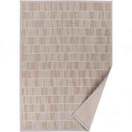 Béžový vzorovaný obojstranný koberec Narma Kursi, 140×200cm