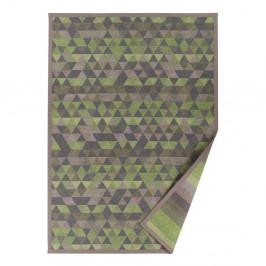 Zelený vzorovaný obojstranný koberec Narma Luke, 140×200cm