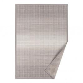 Sivobéžový vzorovaný obojstranný koberec Narma Moka, 160x230cm