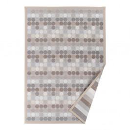 Béžový vzorovaný obojstranný koberec Narma Pallika, 70×140cm