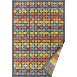 Farebný vzorovaný obojstranný koberec Narma Pallika, 140×200cm