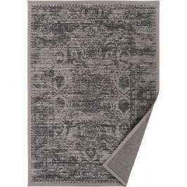 Sivo-béžový vzorovaný obojstranný koberec Narma Palmse, 140x200cm