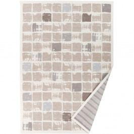 Béžový vzorovaný obojstranný koberec Narma Telise, 70x140cm