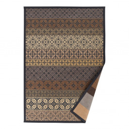 Béžový vzorovaný obojstranný koberec Narma Tidriku, 70x140cm