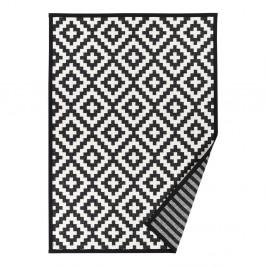 Čierno-biely vzorovaný obojstranný koberec Narma Viki, 140x200cm