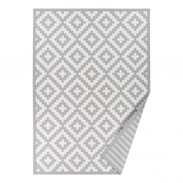 Sivý vzorovaný obojstranný koberec Narma Viki, 70×140cm