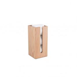 Zásobník na toaletný papier z dubového dreva Wireworks Mezza