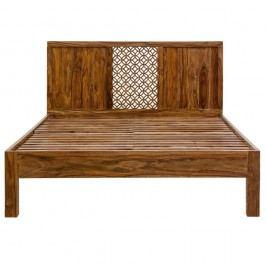 Dvojlôžková posteľ z palisandrového dreva Massive Home Rima, 180x200cm