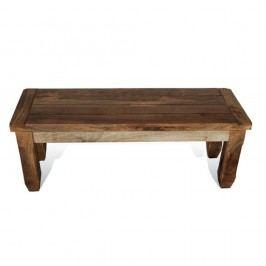 Jedálenská lavica z mangového dreva Massive Home Patna, 170cm