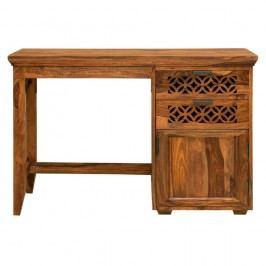 Písací stôl z palisandrového dreva Massive Home Rosie