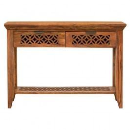 Konzolový stolík z palisandrového dreva Massive Home Rosie